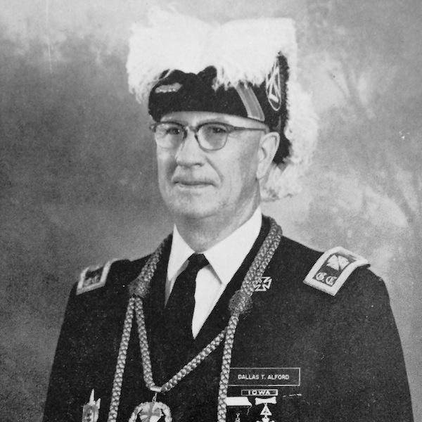 1963-1964 Dallas T. Alford