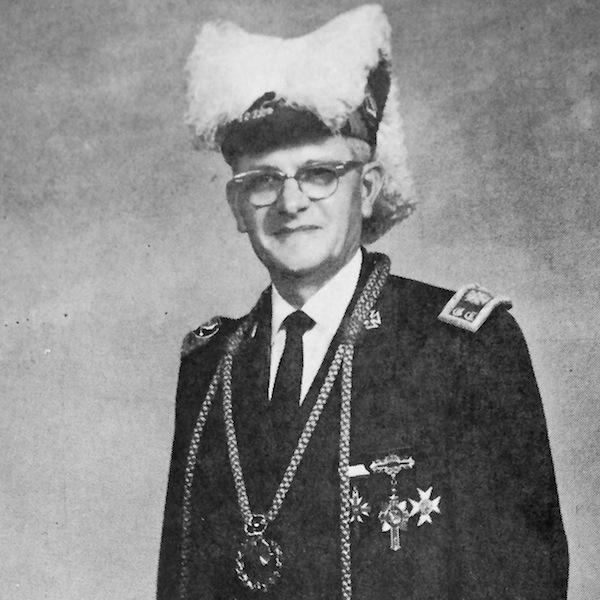 1964-1965 Merlin S. Rufer