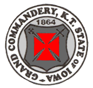 Iowa Grand Commandery Seal COLOR